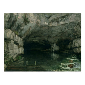 The Grotto of the Loue, 1864 Postcard