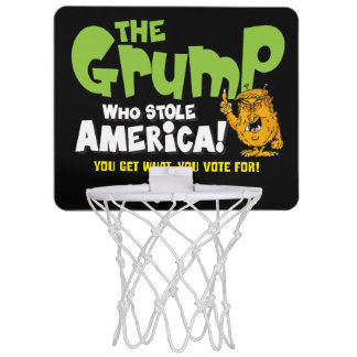 The Grump who stole America Mini Basketball Hoop