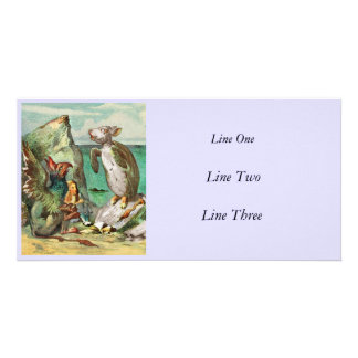 The Gryphon Alice and Mock Turtle Photo Cards