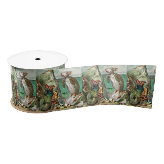 The Gryphon Alice and Mock Turtle Satin Ribbon