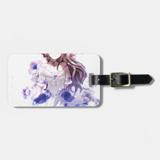 The Guardian Of The Siberian Iris Luggage Tag