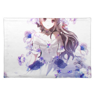 The Guardian Of The Siberian Iris Placemat
