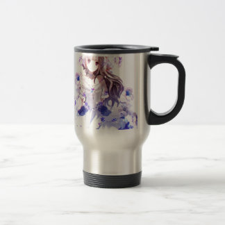 The Guardian Of The Siberian Iris Travel Mug