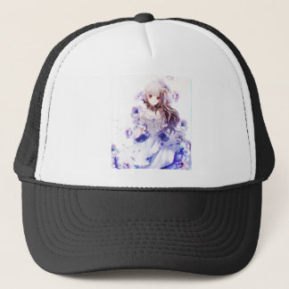 The Guardian Of The Siberian Iris Trucker Hat