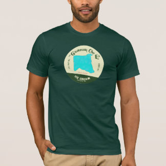The Guernsey Cow Ice Cream TShirt: Blue Moon T-Shirt