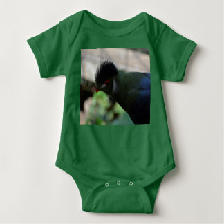 THE GUINEA TURACO BABY BODYSUIT