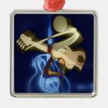The Guitar Player Christmas Ornament