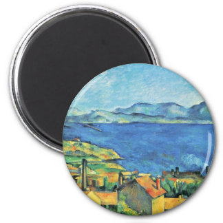 The Gulf Of Marseille Seen From L'Estaque Magnet