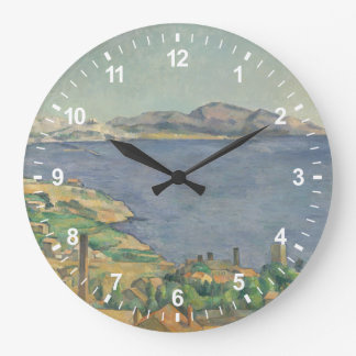 The Gulf of Marseilles Seen from L'Estaque Large Clock