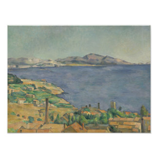 The Gulf of Marseilles Seen from L'Estaque Poster
