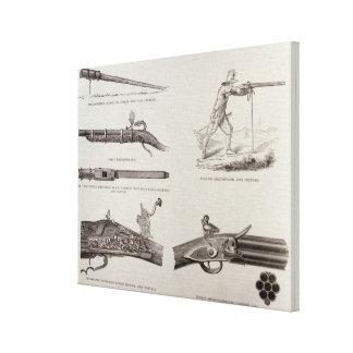 The Gun and its Development Canvas Prints