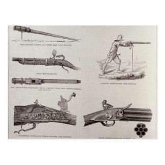 The Gun and its Development Postcard