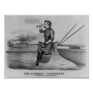 The Gunboat Candidate Posters