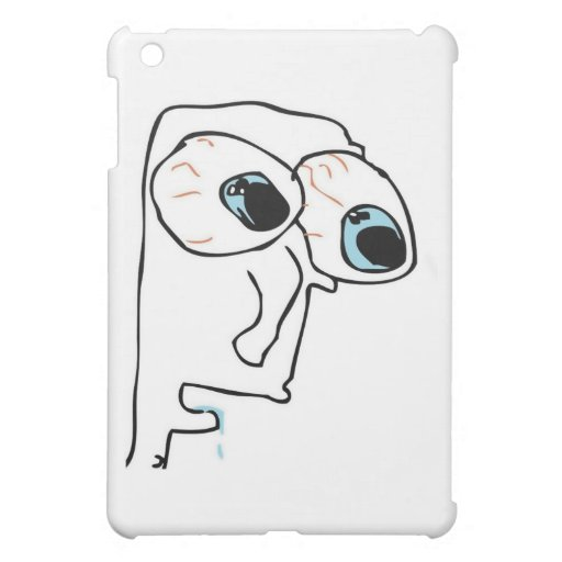 The guy with very big eyes cover for the iPad mini