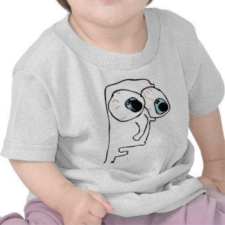 The guy with very big eyes tshirts