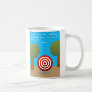 The Habit of Excellence Basic White Mug