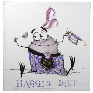 the haggis diet napkin