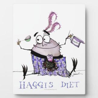 the haggis diet plaque