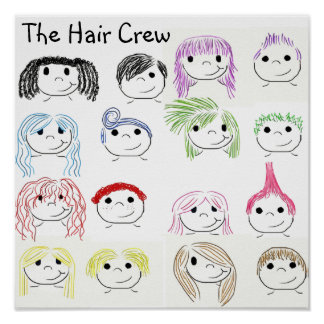The Hair Crew Poster