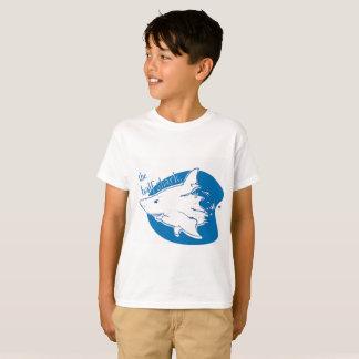 the half shark funny cartoon T-Shirt
