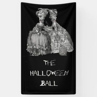 The Halloween Ball (on black) Banner