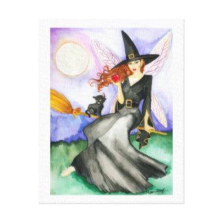 The Halloween Fairy Canvas Print