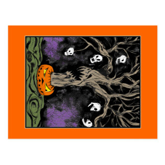 The Halloween Tree Postcard