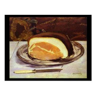 The Ham by Edward Manet Postcard