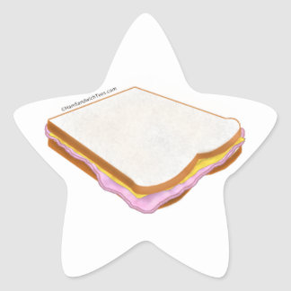 The Ham Sandwich Star Sticker