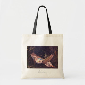The Hammock By Gustave Courbet Bag
