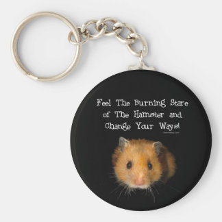 The Hamster Basic Round Button Key Ring