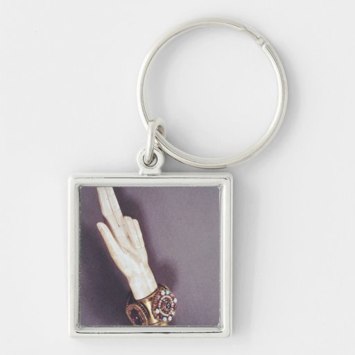 The Hand of Justice of the Kings of France Keychain