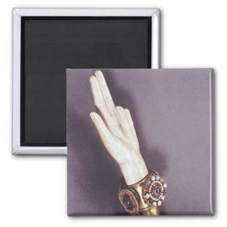 The Hand of Justice of the Kings of France Fridge Magnet