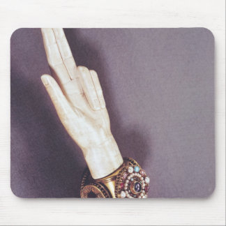 The Hand of Justice of the Kings of France Mousepad