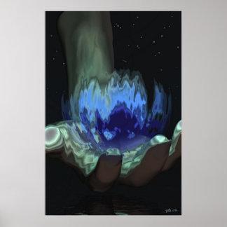 The Hand, V.O. Poster