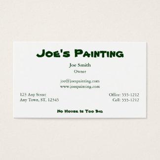The Handyman Business Card