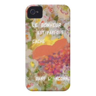 The happiness is full of unknown things iPhone 4 cover