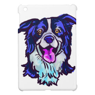 The happy Border Collie Love of My Life iPad Mini Cases