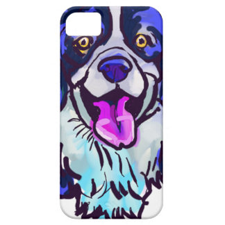 The happy Border Collie Love of My Life iPhone 5 Cover