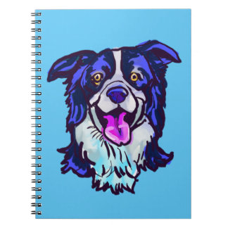The happy Border Collie Love of My Life Notebook