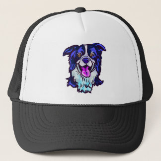 The happy Border Collie Love of My Life Trucker Hat