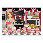 The Happy Chef / Caterer / Bakery - SRF Pack Of Chubby Business Cards