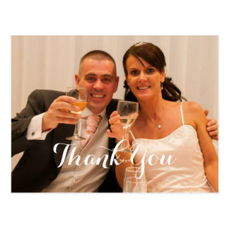 The Happy Couple Wedding Gift Thank You Post Cards