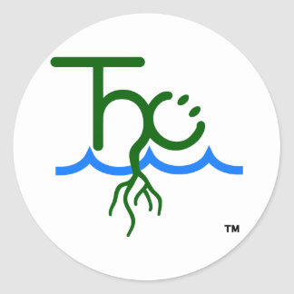 The Happy Cultivator™ THC logo sticker