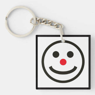 The Happy Face Key Ring