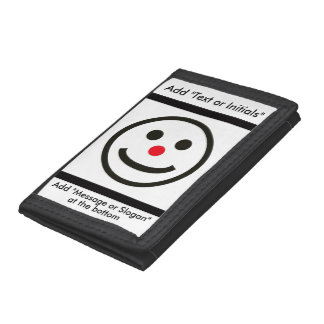 The Happy Face Trifold Wallet