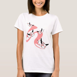 The happy flying tampons! 215 KR T-Shirt