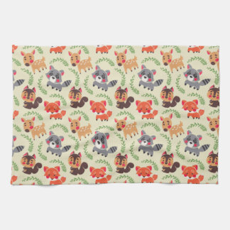 The Happy Forest Friend Tea Towel