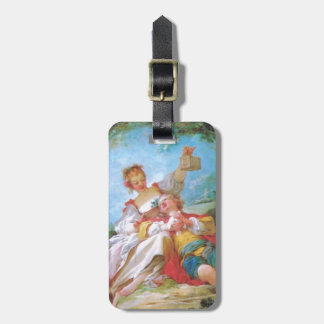 The Happy Lovers Personalized Bag Tag