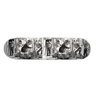 """The Happy Street Cleaner Calaveras"" Skateboards"